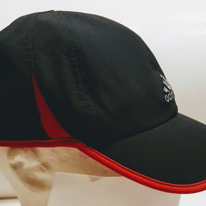 ba9eecdf86c Adidas Accessories - ADIDAS HAT CAP ADIZERO CLIMACOOL BLACK RED